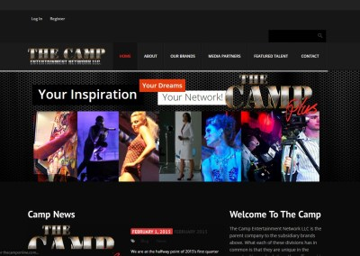 The Camp Entertainment Network Website