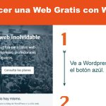 Web Gratis en Wordpress
