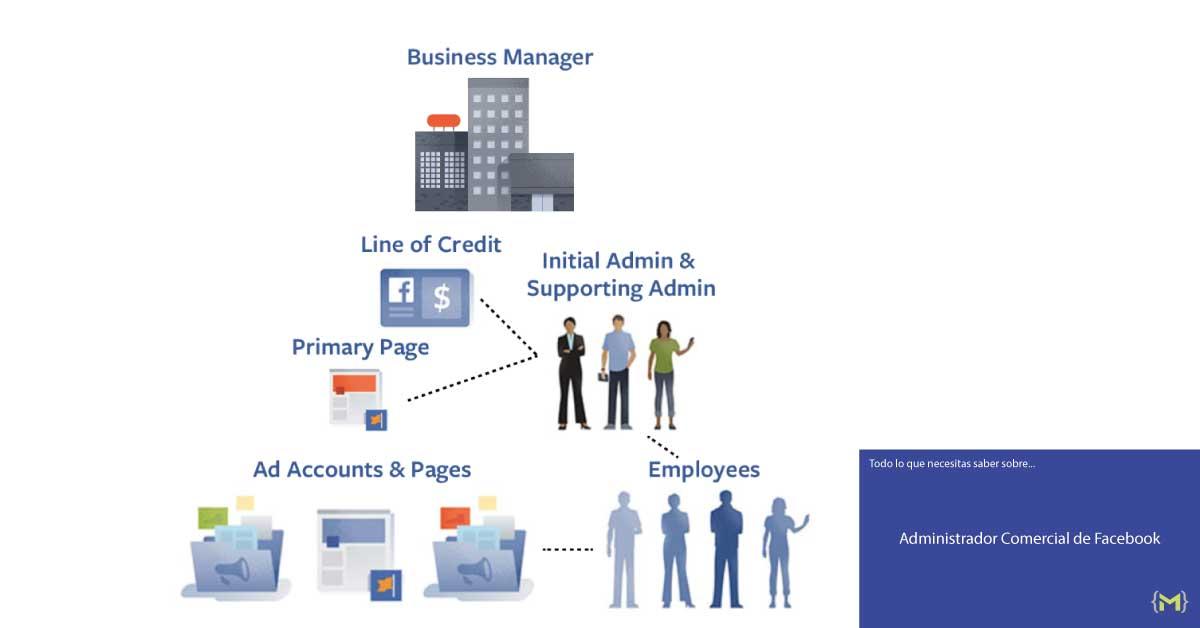 Estructura del Administrador Comercial de Facebook - iMorillas