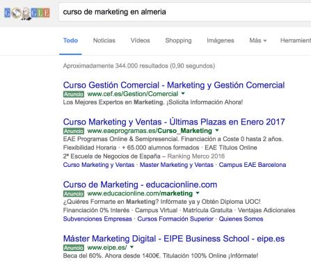 curso de marketing online en almeria