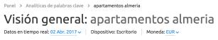 Apartamentos en Almería