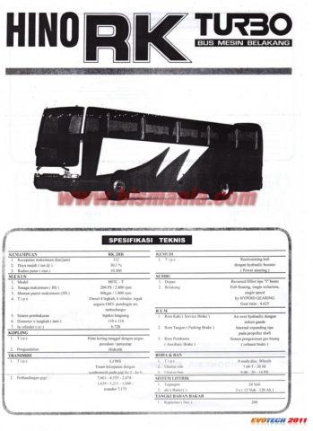 Mengenal Varian Mesin dan Chassis Bus Hino RK Series, Inilah Ciri - Cirinya!