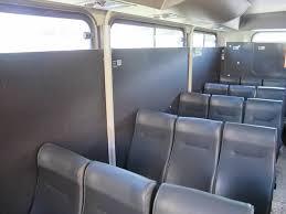 bus tambang freeport interior