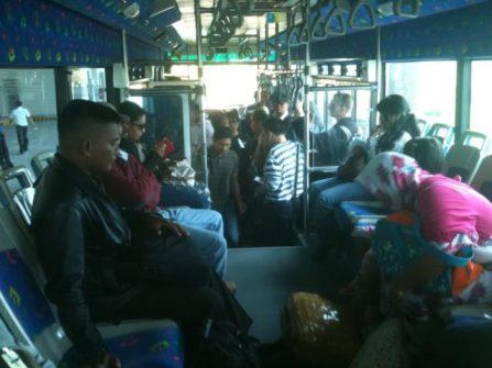 Interior bus apron Iveco