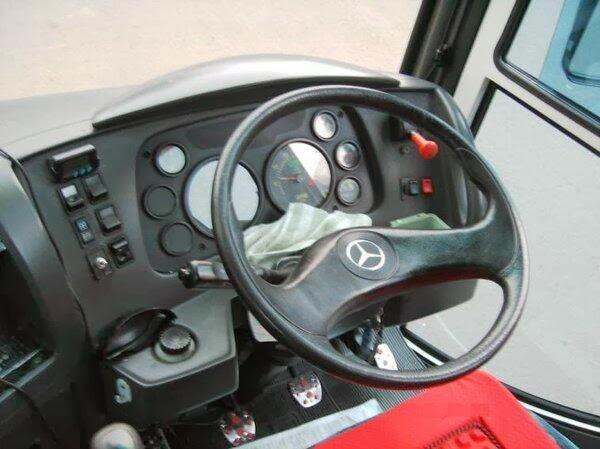 Mengenal Mercedes-Benz OH 1525 speedometer