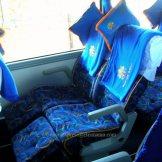 Seat Pitchnya sangat baik, tidak mentok baris depan :roll: