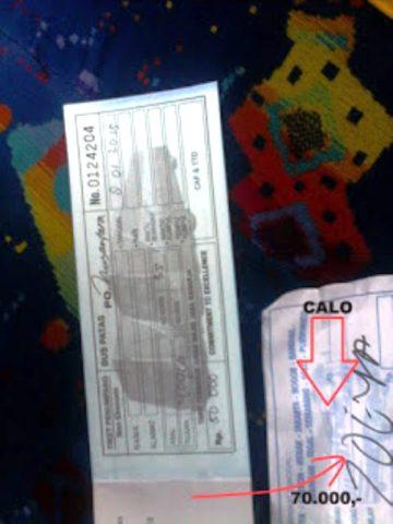 ilustrasi tiket dari calo –  kaskus indonesian forum