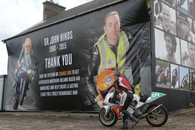 Irish Road Racing Doctor John Hinds – 5