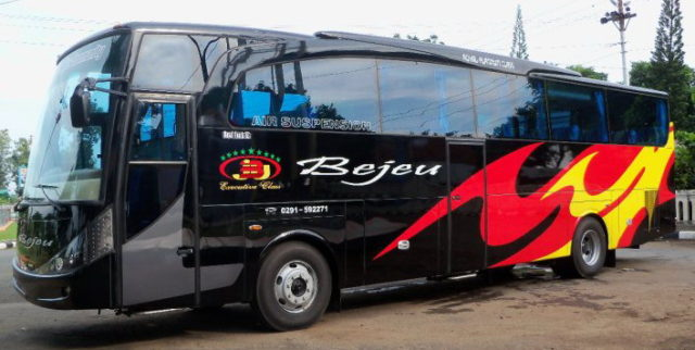 Mengenal Si Bus Hitam Membara Asal Jepara, PO Bejeu