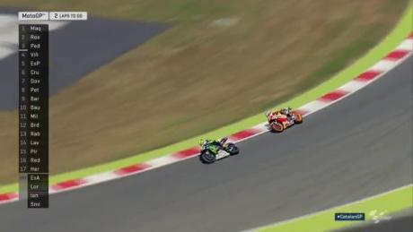 Catalunya Motogp 2016 rossi vs marc