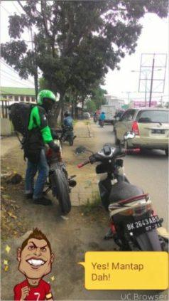 Sampai di Medan.. Weleh... 2500 km lebih