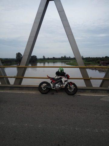 Mengabadikan perjalanan.. sepanjang lintas sumatra banyak sungai besar
