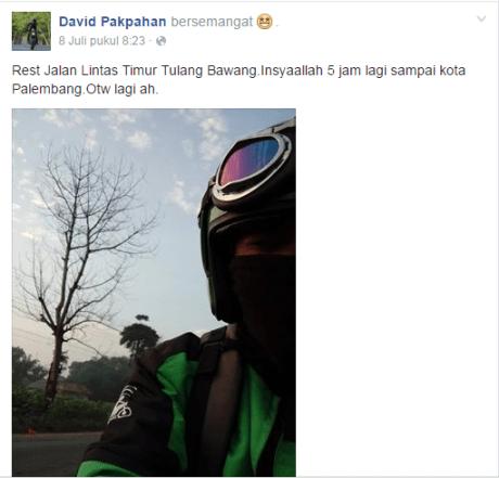 Gojek mudik Jakarta medan 7