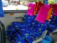 Seat Pitch Lumayan untuk kelas Eksekutif