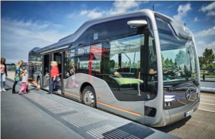 Mercedes Autonom Bus