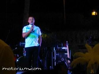 Rizal Sungkar Dalam Acara Gala Dinner Pertamax Turbo di Kamandalu, Ubud, Bali