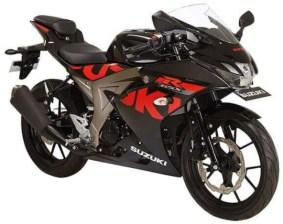 GSX-R150 Black Red