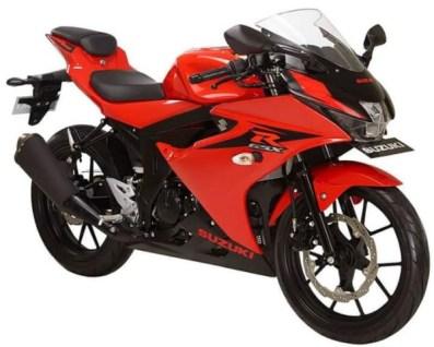 GSX-R150 Red Titan Black