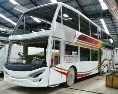 Sinar Jaya Siap Rilis Bus Double Decknya Dalam Waktu Dekat Juozz