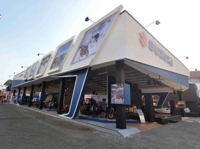 Real Booth Luar Suzuki