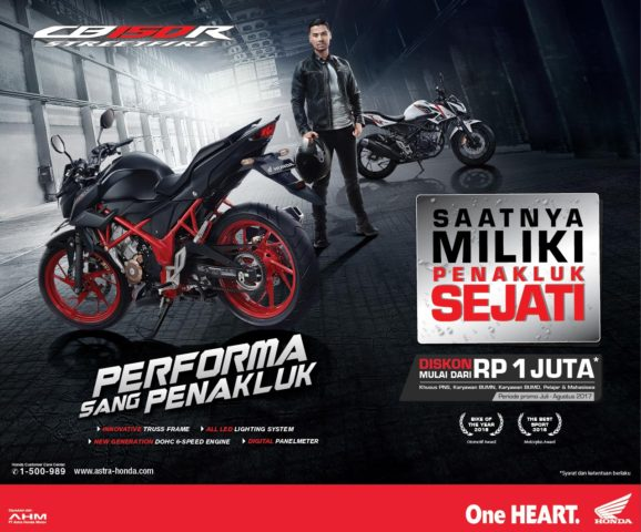 Sales Program CB150R – Disc 1jt