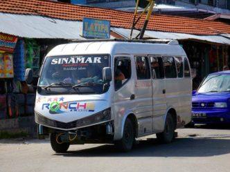 PO Sinamar dulunya bermain di armada bus reguler medium, kini beralih ke elf
