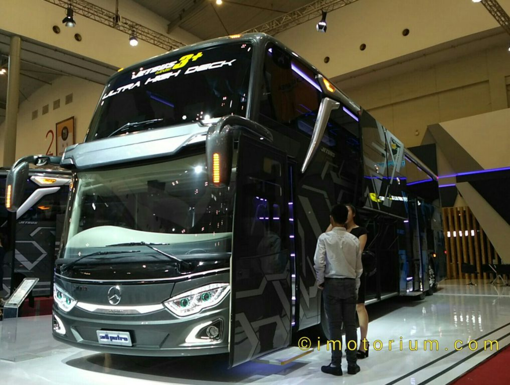 GIIAS 2018 : Mengintip Detail Adiputro Ultra High Deck, Bus Lowdrive Pertama Di Indonesia