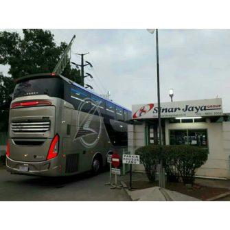 sinar jaya jetbus 2 sdd vs laksana sr2 xdd prime 11083456457.