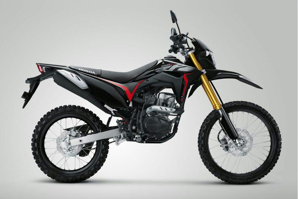 AHM Luncurkan Honda CRF150L Warna Baru Extreme Black, Berikut Harga OTR-nya