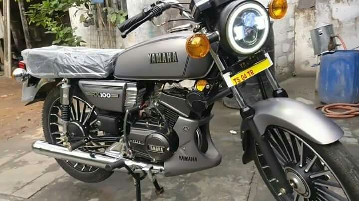India Bakal Launching Yamaha RX100 Versi Baru Bermesin 4 Tak?