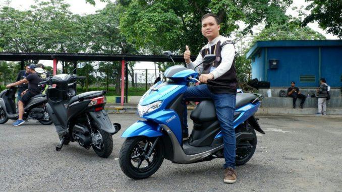 Yamaha FreeGo 125 test ride
