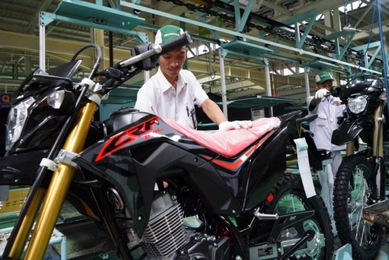 Pabrik Honda CRF150L