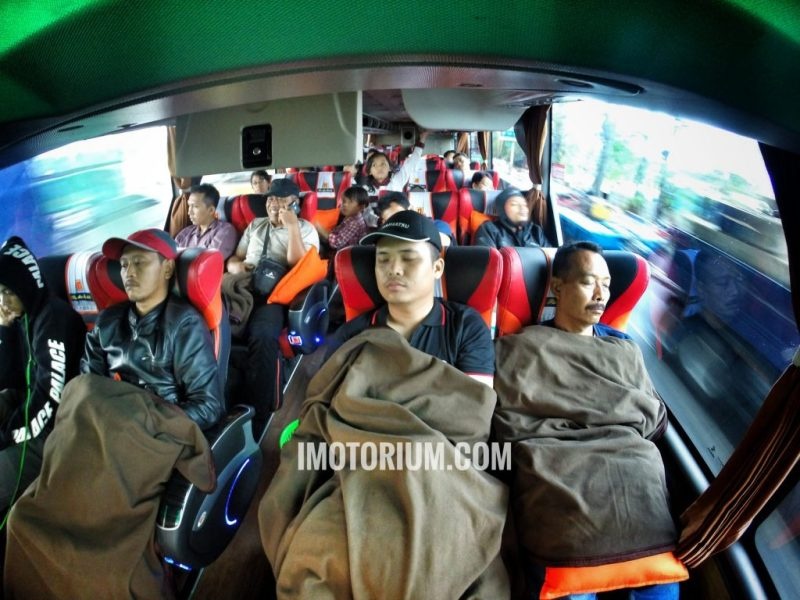 Bus Rosalia Indah Double Decker interior