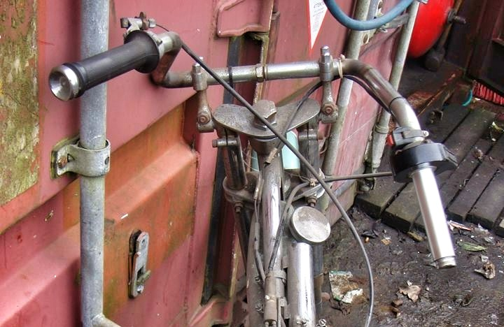 Handlebar auto race bike
