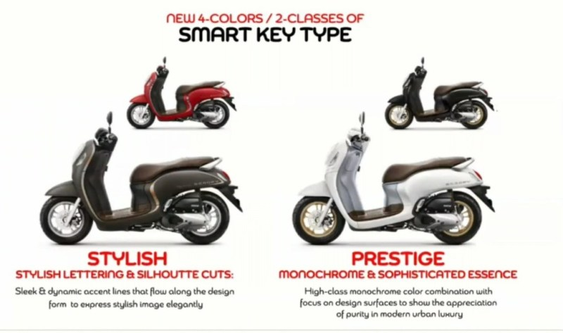 Scoopy varian stylish prestige
