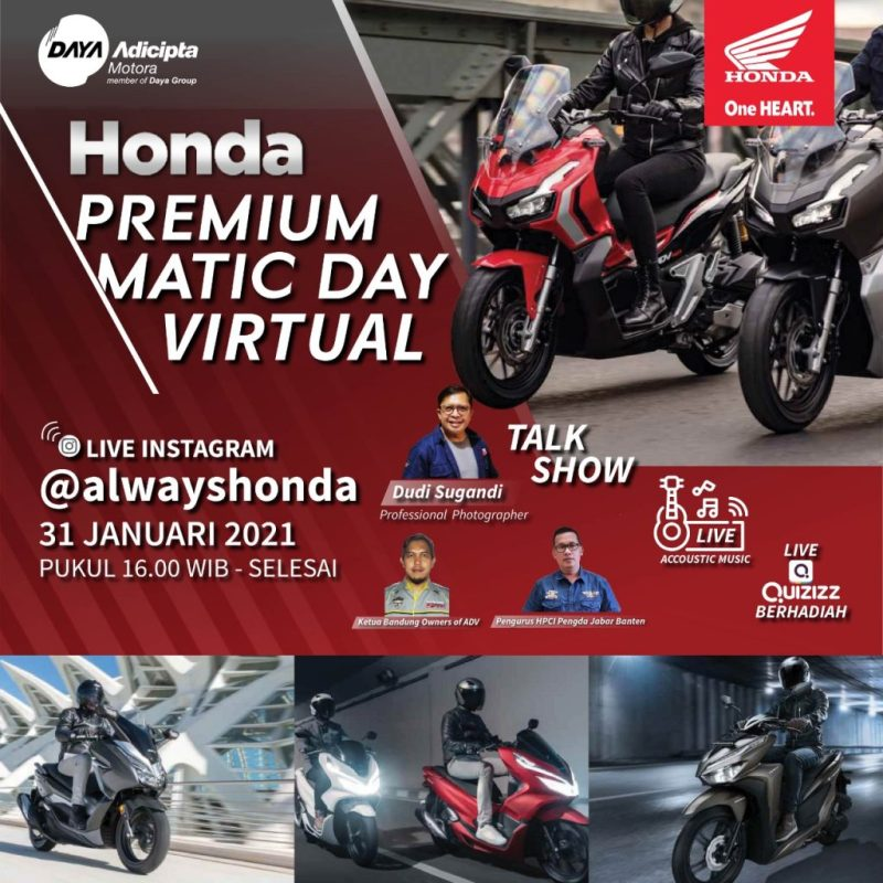 Premium Matic Day Honda Virtual 2021