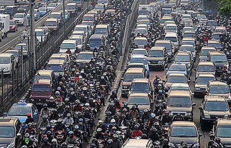 skenario kecelakaan di kemacetan 3