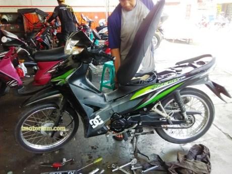 Honda Revo Turun Mesin 10
