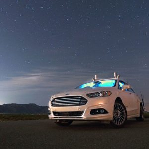 Ford autonomous research car