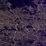 Sydney transport network map