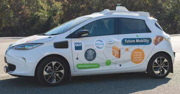 ZOE2 connected and highly automated vehicle