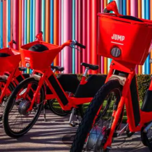 Uber Jump electric bicycles