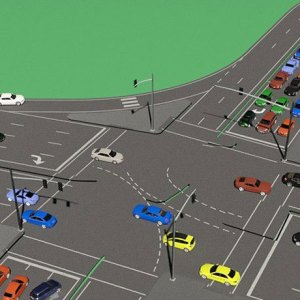 Synergistic Traffic Consultancy traffic signal monitoring illustration