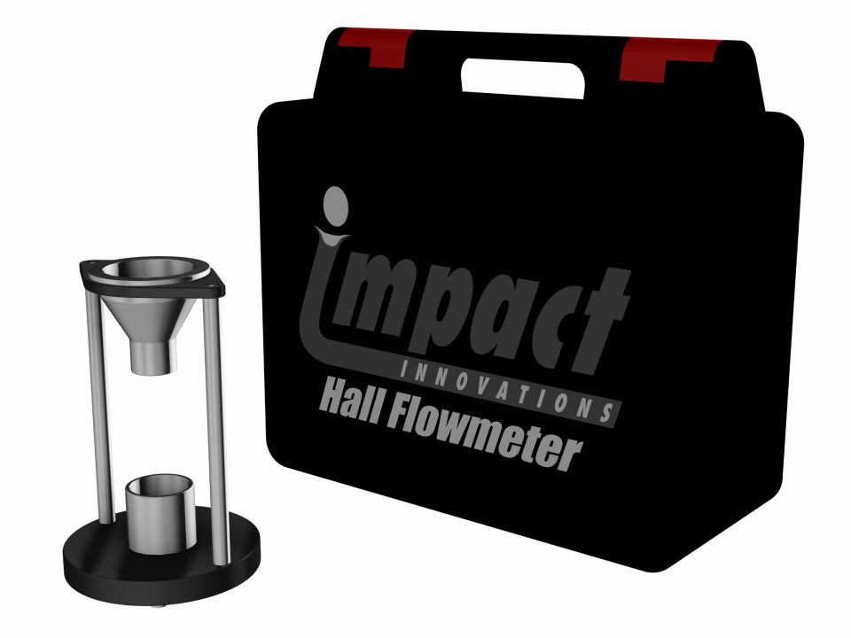 Impact Innovations Hall-Flowmeter-Kit_001 for cold spraying