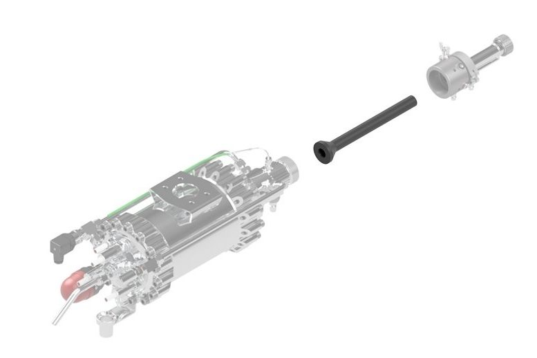 Impact Innovations Injector - OUT5_002 for cold gas thermal spray systems
