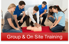 Group and On Site First Aid Training