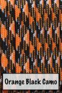 Orange Black Camo