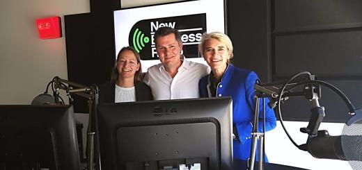 Foto van Karen Maas, Glenn van der Burg & Annette van Waning