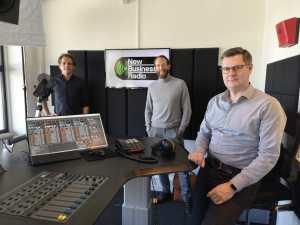 Foto van Joris Thijssen, Roland Pechtold & Glenn van der Burg