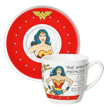 The Amazon Princess likes a nice cuppa every now and then